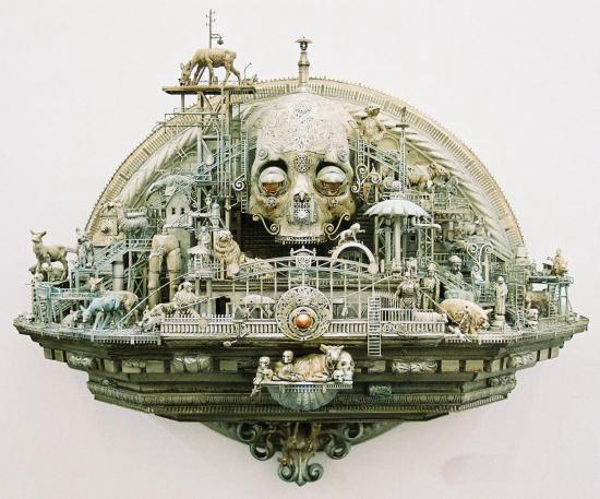 Машина апокалипсиса(мрачное искусство Криса Кукси) (Фото 6)