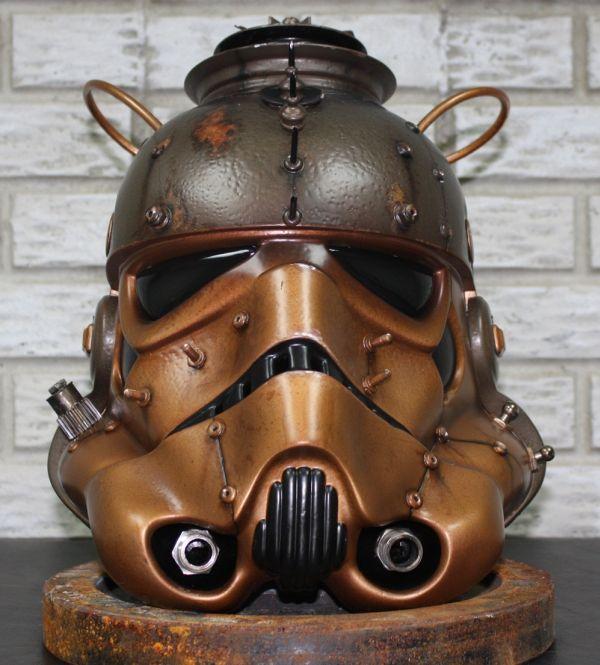 Stormtrooper helmet. Шапка штурмовика-стимера. (Фото 11)