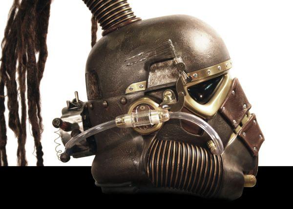 Stormtrooper helmet. Шапка штурмовика-стимера. (Фото 6)