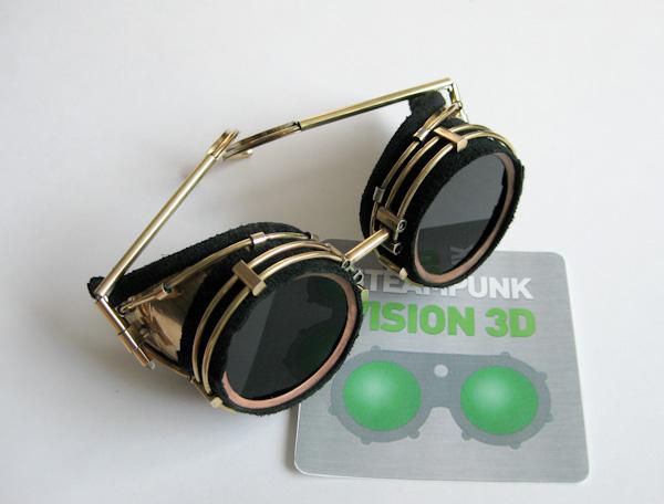 """Очки для конкурса """"STEAMPUNK-VISION 3D"""" Завершение (обновил фотографии)."""