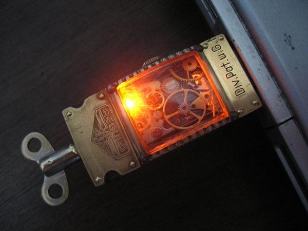 Steampunk Flash Drives (Фото 6)