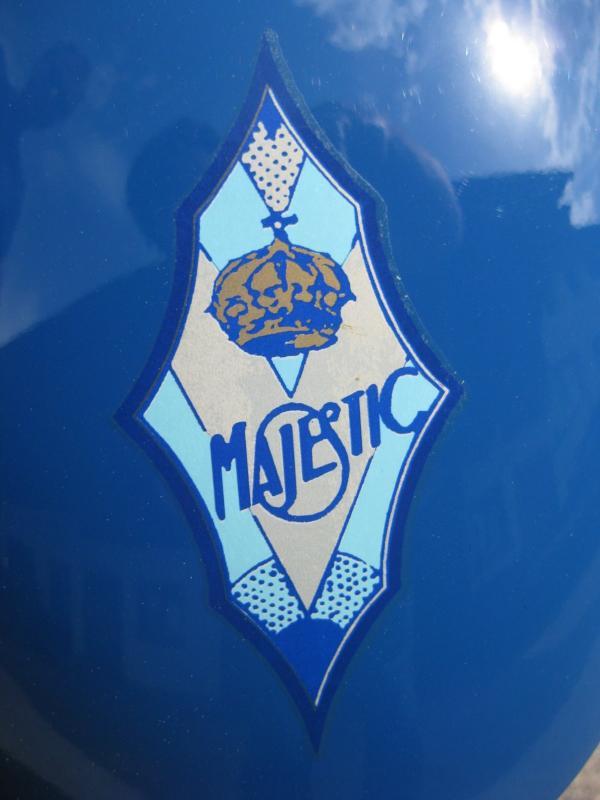 Французский Мотоцикл Majestic 1929