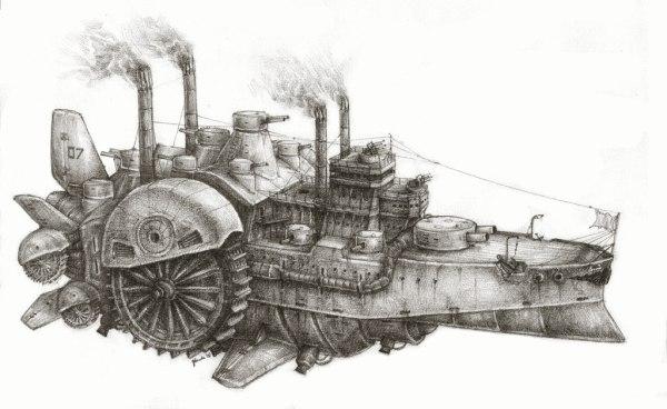 Steampunk admiral (Фото 4)