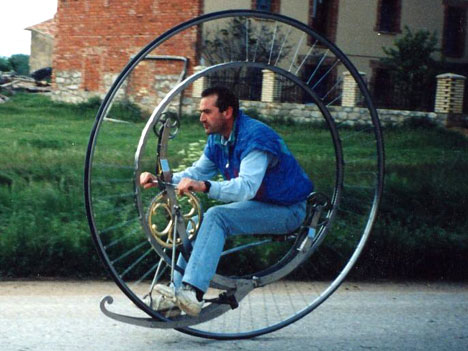 Steampunk Monowheel (Фото 14)