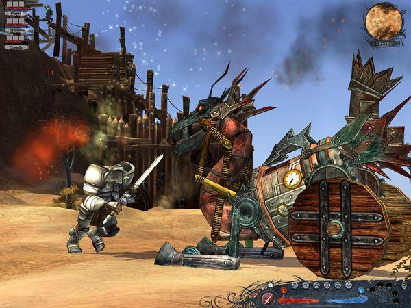 Silverfall,Давольно затягивающая SteamPunk RPG (Фото 3)