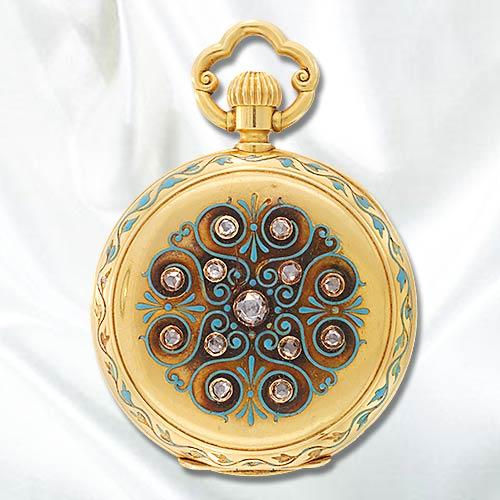Часы-медальоны Викторианской эпохи (Фото 4)