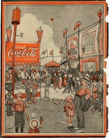 Coca-Cola в модных журналах и постеры (Фото 26)