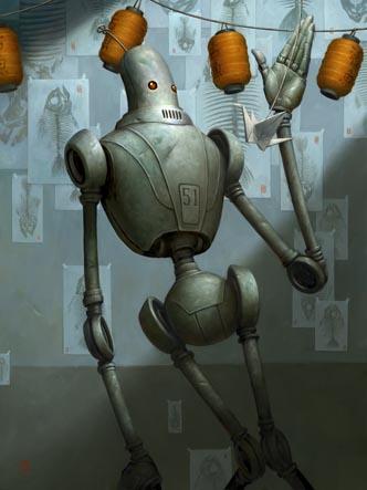 Добрые роботы Brian Despain. (Фото 16)