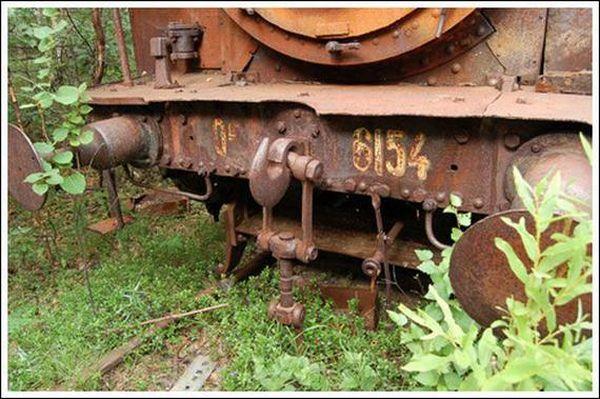 Кладбище паровозов (Фото 12)