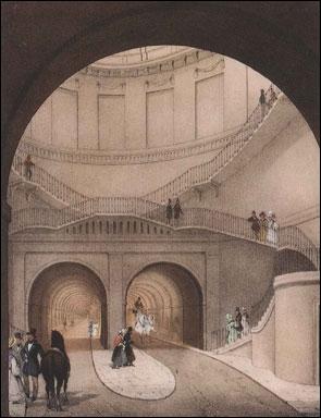 В Лондоне в последний раз открыли туннель под Темзой, чтобы вскоре закрыть навсегда...