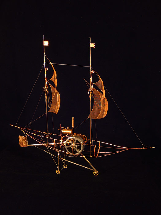 А. Лапин, Самая ловкая лодка в мире