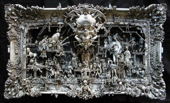 Машина апокалипсиса(мрачное искусство Криса Кукси) (Фото 5)