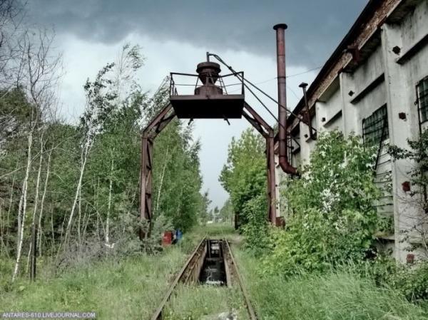 Кладбище поездов в Воскресенске (Фото 9)