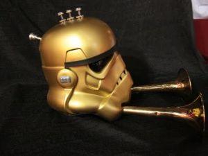 Stormtrooper helmet. Шапка штурмовика-стимера. (Фото 7)