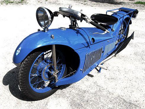 Французский Мотоцикл Majestic 1929 (Фото 7)