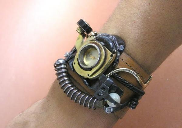 Стимпанк часы от Ивана Мавровича