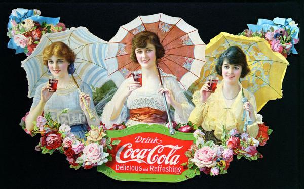 Coca-Cola в модных журналах и постеры (Фото 4)
