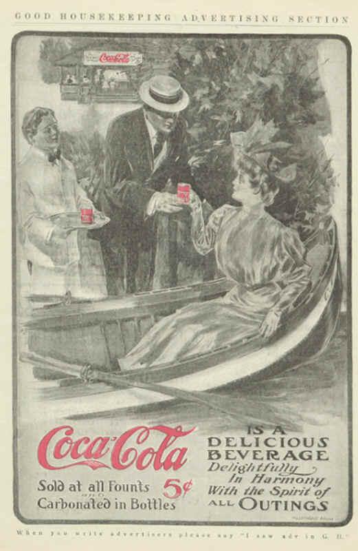 Газетная реклама Coca-Cola (Фото 5)