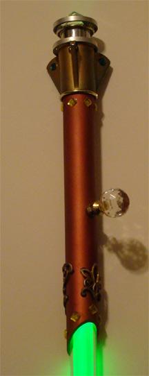 Световой меч в викторианском стиле
