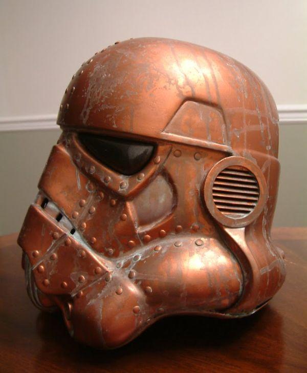 Stormtrooper helmet. Шапка штурмовика-стимера. (Фото 2)