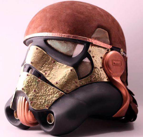 Stormtrooper helmet. Шапка штурмовика-стимера. (Фото 9)