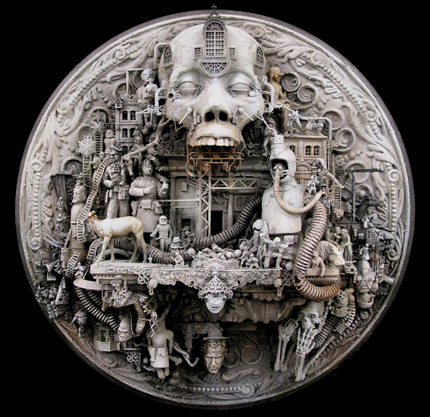 Машина апокалипсиса(мрачное искусство Криса Кукси) (Фото 3)