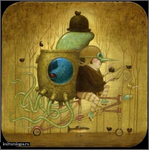 Cюрреализм в стиле стимпанк от художника Билла Кармэна(Bill Carman) (Фото 2)