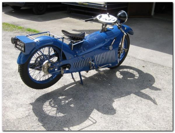 Французский Мотоцикл Majestic 1929 (Фото 3)