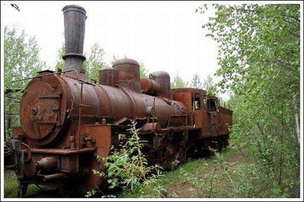 Кладбище паровозов (Фото 6)