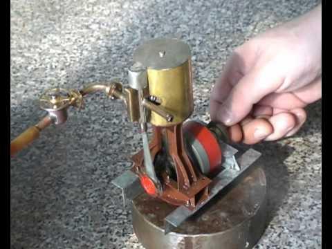 Ролик: Steam engine, паровая машина, die Dampfmaschine. - Почемучка - ответы на все вопросы
