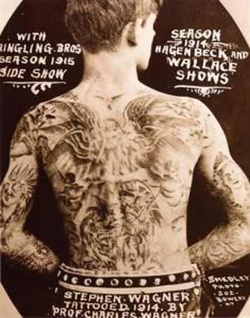 Викторианская татуировка. (Фото 16)