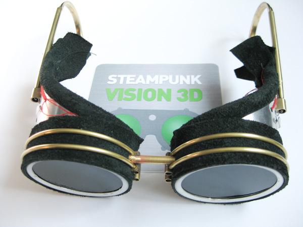 "Очки для конкурса ""STEAMPUNK-VISION 3D"" часть 1 . (Фото 2)"