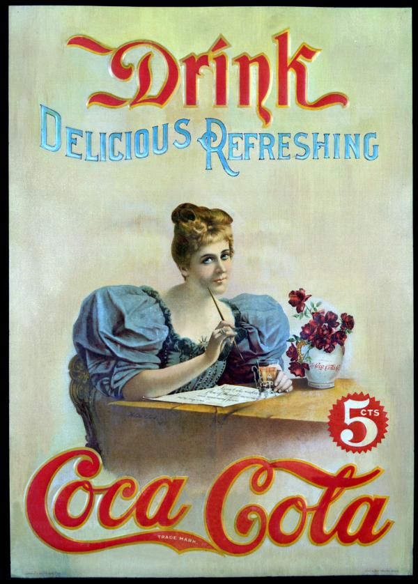 Coca-Cola в модных журналах и постеры (Фото 5)