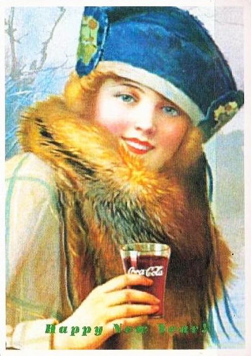 Coca-Cola в модных журналах и постеры (Фото 12)