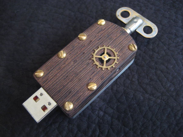 Steampunk Flash Drives (Фото 4)