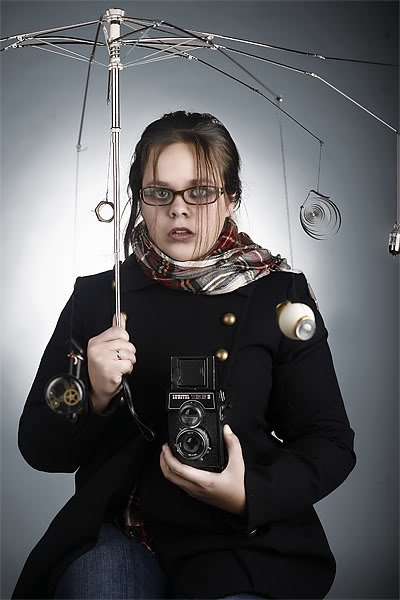 Фотосессия по мотивам стимпанка. (Фото 11)