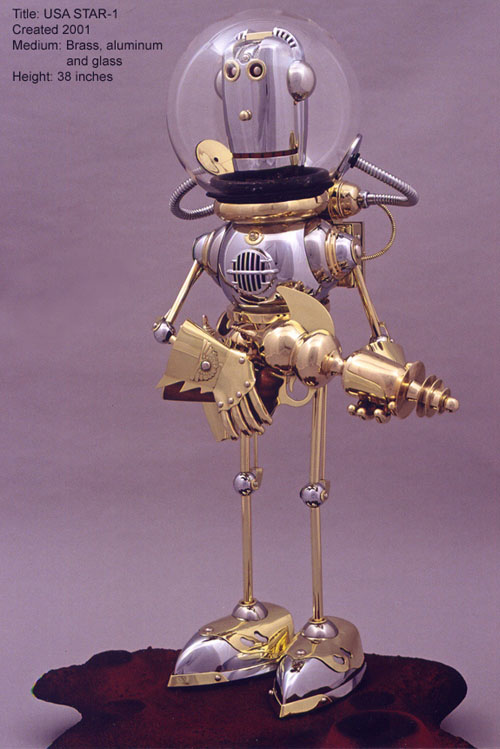The Steampunk Robots Of Lawrence Northey. (Фото 25)