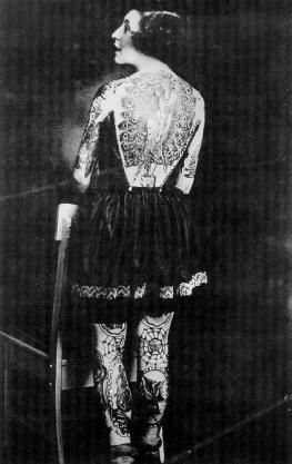 Викторианская татуировка. (Фото 8)