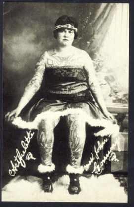 Викторианская татуировка. (Фото 10)