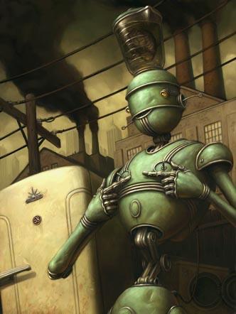 Добрые роботы Brian Despain. (Фото 8)