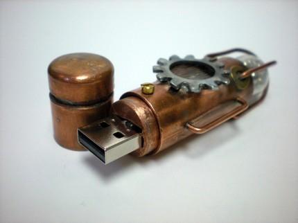 Флешки в cтиле Steampunk-3 (Фото 8)