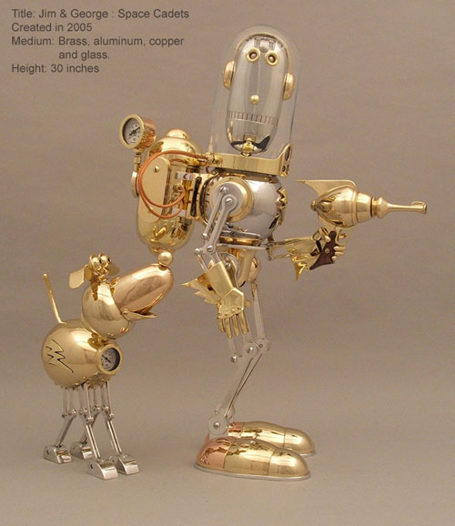 The Steampunk Robots Of Lawrence Northey. (Фото 9)
