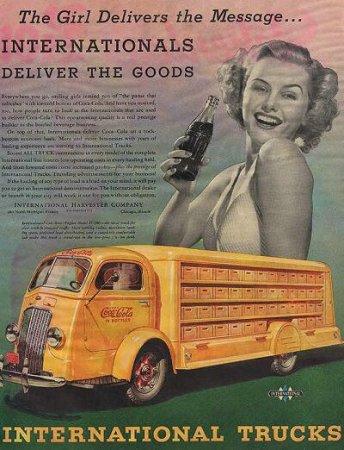 Coca-Cola в модных журналах и постеры (Фото 14)