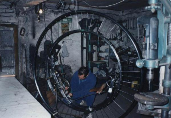 Steampunk Monowheel (Фото 12)