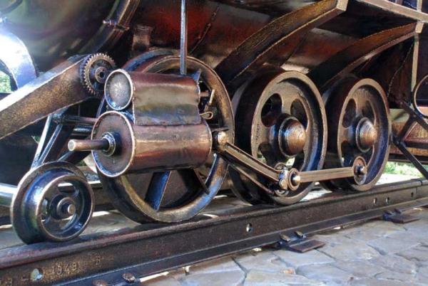 Мангал паровоз (Фото 3)