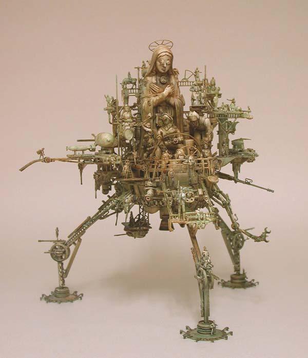 Машина апокалипсиса(мрачное искусство Криса Кукси) (Фото 13)