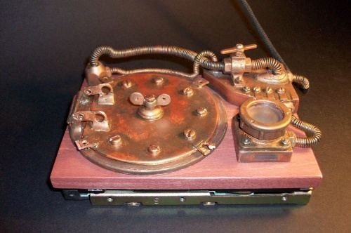 Steampunk HDD