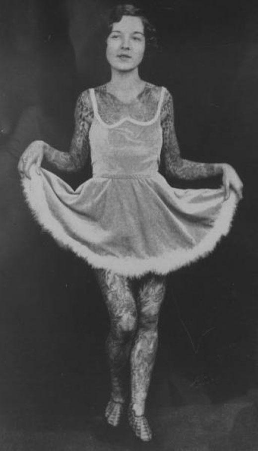 Викторианская татуировка. (Фото 13)