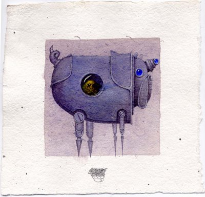 Cюрреализм в стиле стимпанк от художника Билла Кармэна(Bill Carman) (Фото 17)