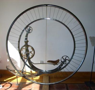 Steampunk Monowheel (Фото 13)